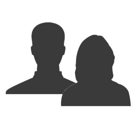 Male and female tutor silhouette
